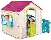 Детский игровой домик Keter Садовый Фиолет/Белый/Экрю, фото 1