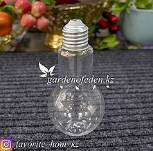 Емкость для сыпучих продуктов в форме лампочки. Материал: Пластик. Цвет: Прозрачный.