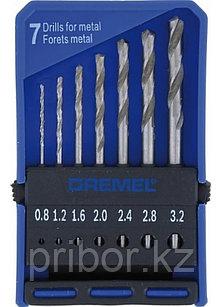 Набор сверл DREMEL 628, 7 штук.