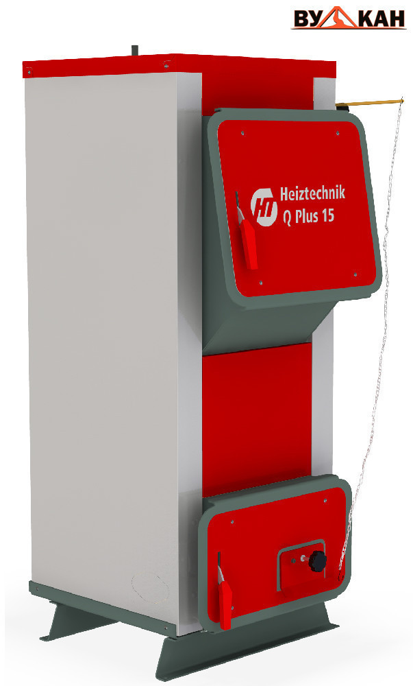 Универсальный котел длительного горения Q KOMFORT 25 кВт.