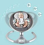 Качели электрические детские SG-402 от рождения, фото 4