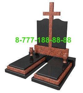 Памятники на могилу двойные ПД 15, фото 2