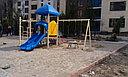 Детский спортивно-игровой комплекс Капитошка HD111 HUADONG, фото 2