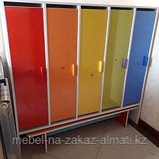 Шкаф раздевалки детских садов, фото 2
