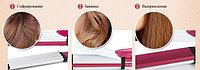 Стайлер для выпрямления, завивки и гофрирования волос -919 3-в-1