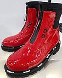 Ботинки лаковые, фото 3