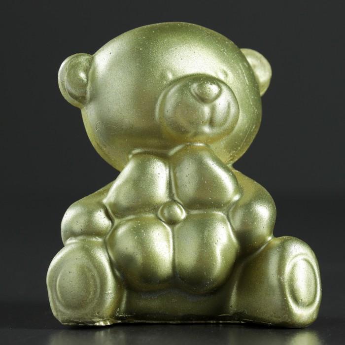 "Фигура ""Мишулька"" золото 7,5х7х5,5 см"