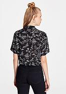 Черная рубашка с коротким рукавом, фото 2