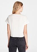 Белая футболка с принтом ICON, фото 2