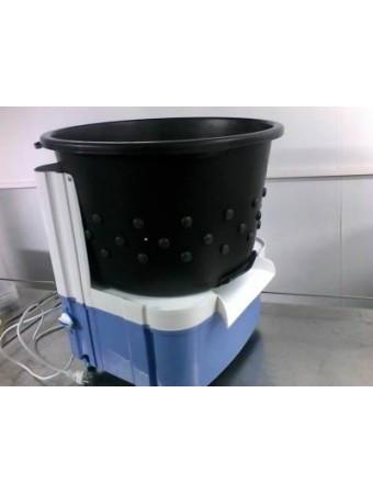 Перосъемная машина ПМ-7М с загрузкой до 7 кг для ощипывания бройлеров