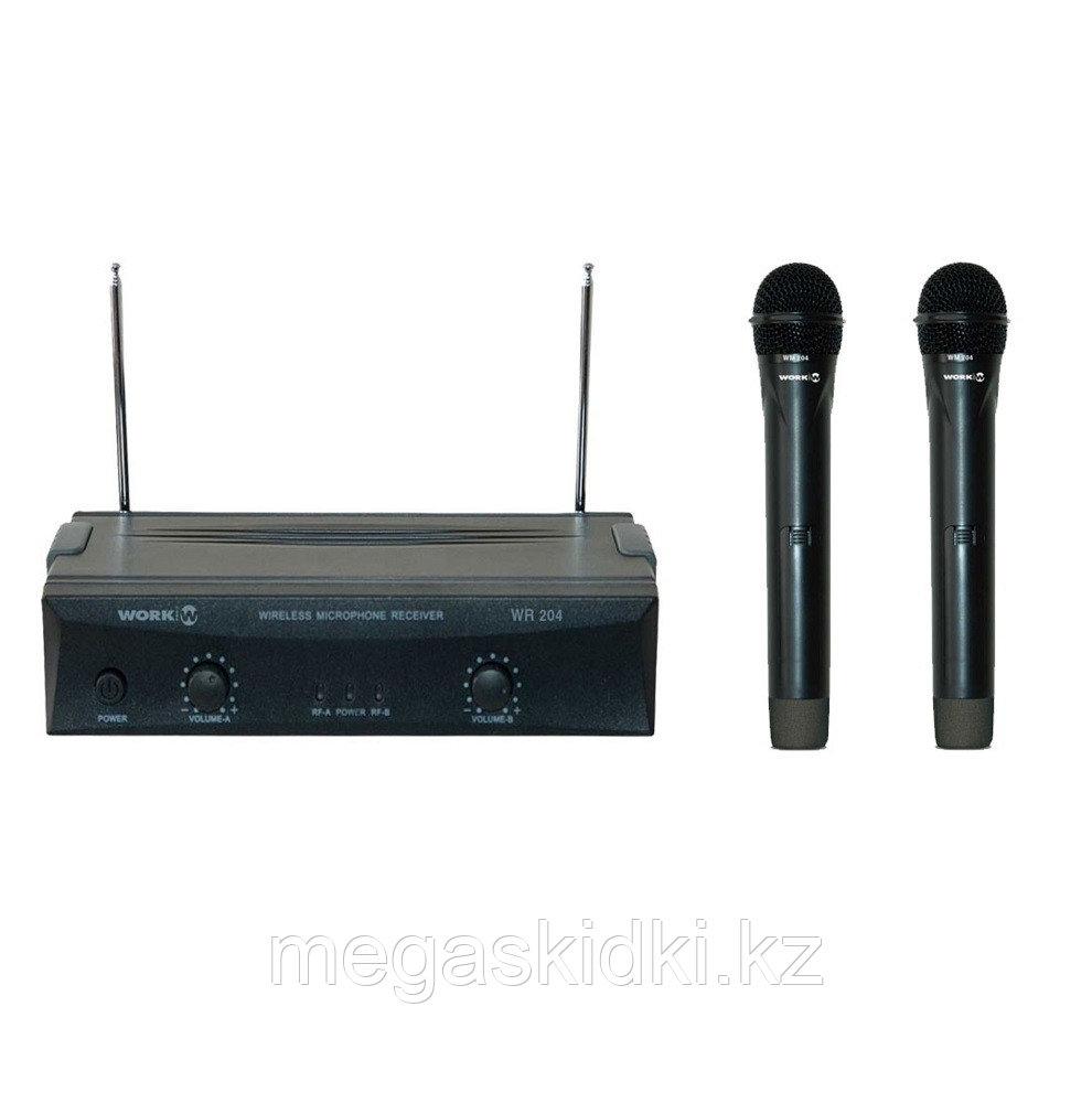 Беспроводной микрофон WORK WR 204/1