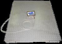 Весы платформенные напольные до 3000кг(3 тонны) 120*150см проводные, фото 1