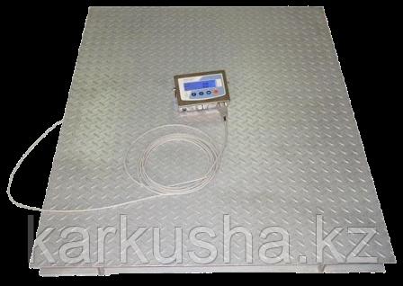 Весы платформенные напольные до 3000кг(3 тонны) 120*150см беспроводные(Bluetooth)