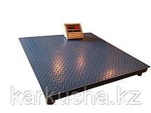 Весы платформенные напольные до 1000кг(1 тонна) 100см*100см проводные