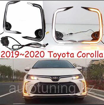 Дневные ходовые огни (ДХО) на Toyota Corolla 2019+