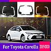 Дневные ходовые огни (ДХО) на Toyota Corolla 2019+, фото 2