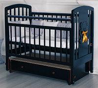 Кровать детская Incanto HUGGE венге, универсальный маятник, с ящиком