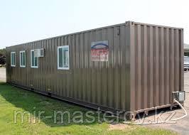 Утепленные контейнеры 40 тонник