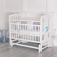 Кровать детская Incanto HUGGE Белая с маятником, фото 1