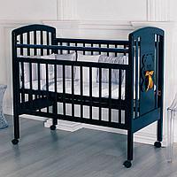 Кровать детская Incanto HUGGE венге колесо качалка