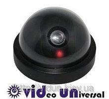 Муляж камеры видеонаблюдения с моргающим красным маячком