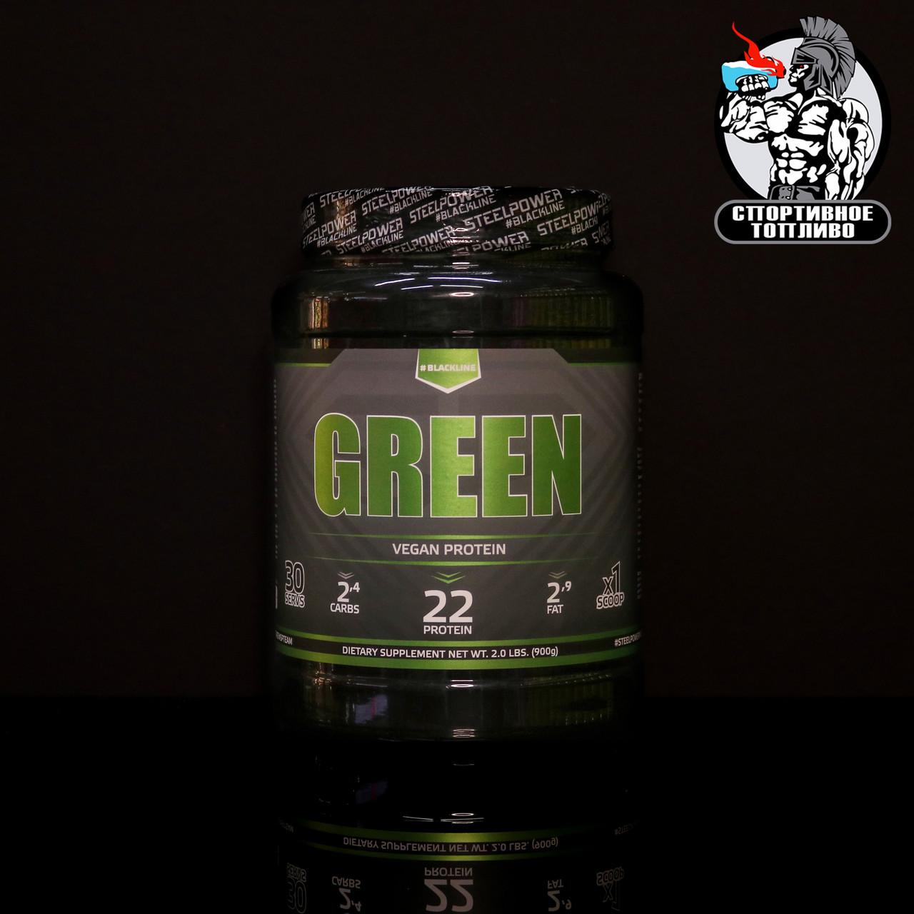 Black Line - Green Vegan protein 900гр/30порций