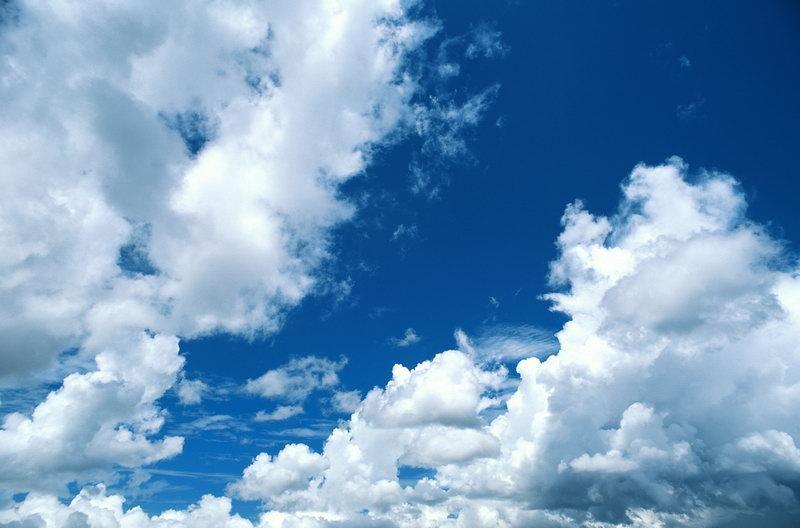Готовое полотно ПВХ, натяжной потолок для дилеров MSD фактурное Облака