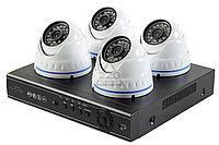 Комплект гибридного видеонаблюдения