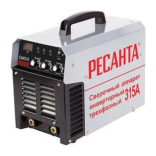 Инверторный Сварочный аппарат РЕСАНТА САИ-315 трехфазный