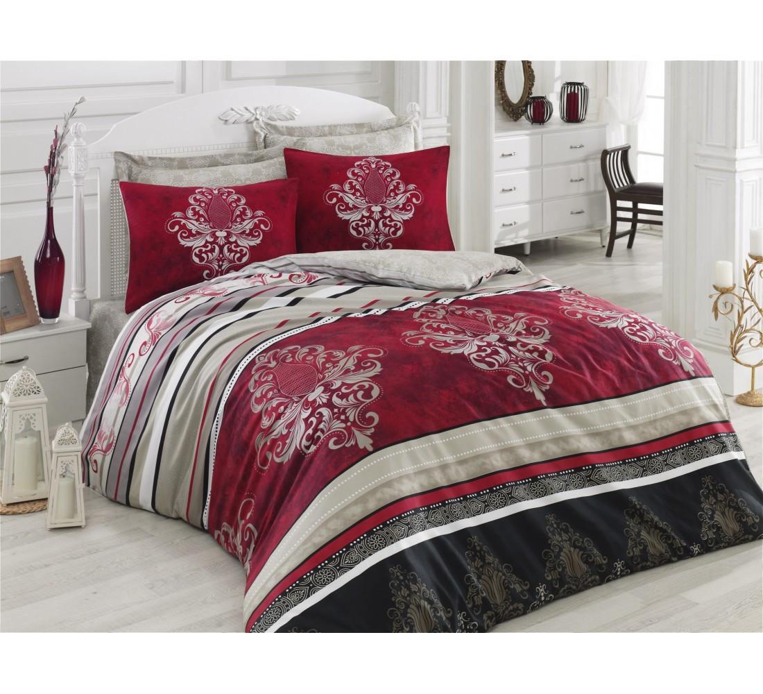 Семейный комплект постельного белья, сатин