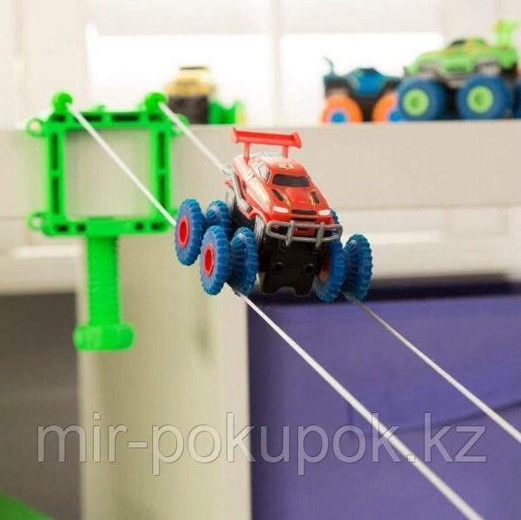Trix Trux (Trie Trul) Канатный автотрек Монстр-трак 2 машинки, 1 комплект препятствий (Трик-Тракс)