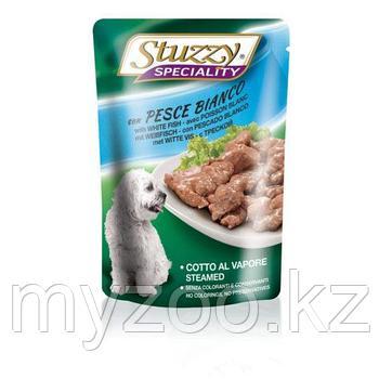 STUZZY SPECIALITY DOG влажный корм для собак Треска в соусе 100 гр