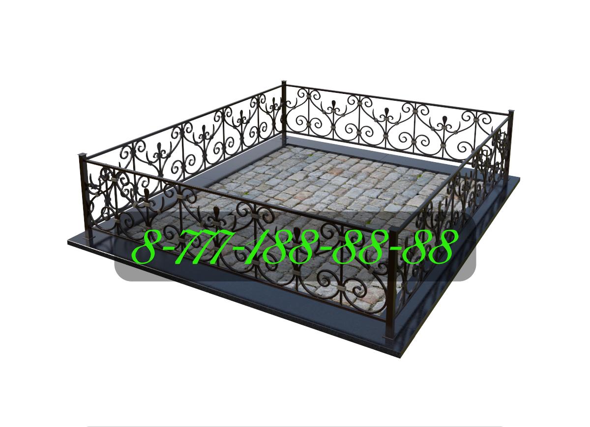 Оградка для могилы №33