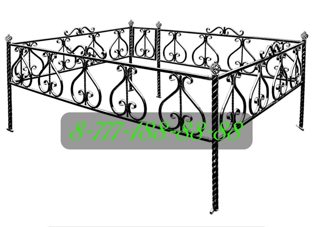 Ограды для могилы №38