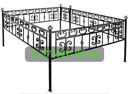 Оградка на могилу №39, фото 2