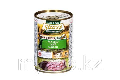 STUZZY MONOPROTEIN  влажный корм для собак  Ягненок  400 гр