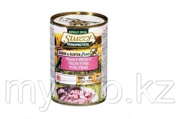 STUZZY MONOPROTEIN  влажный корм для собак Свежая свинина 400 гр