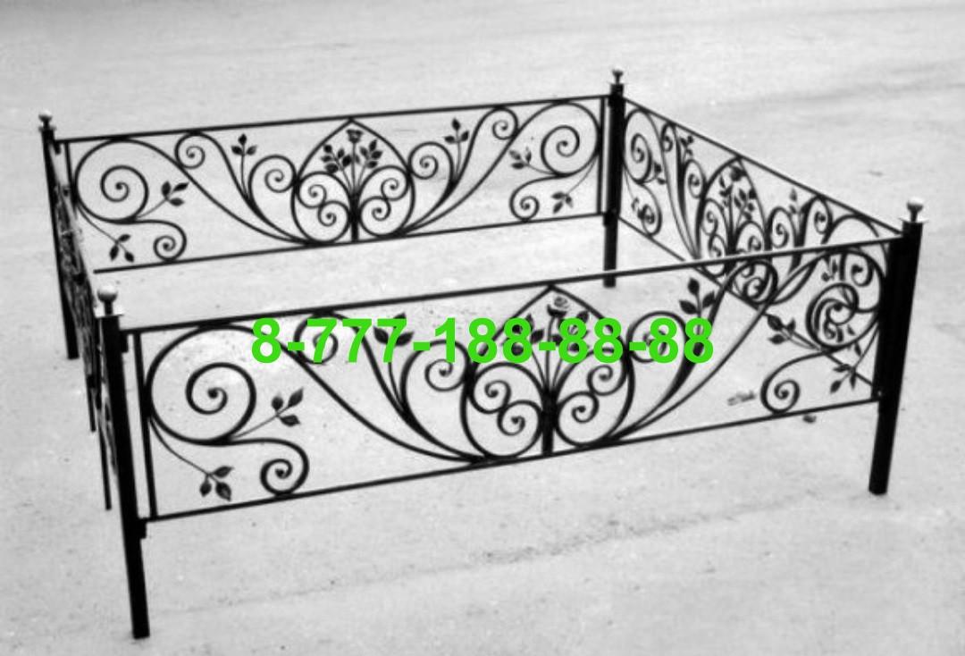 Кованая оградка №58