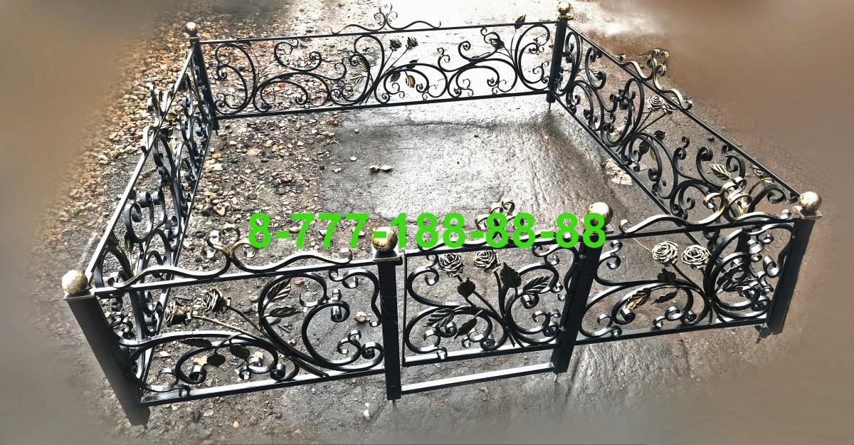 Кованая оградка №61