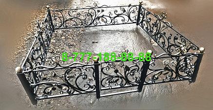 Кованая оградка №61, фото 2