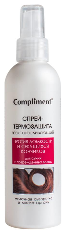Спрей для волос compliment восстанавливающий термозащита 200 мл