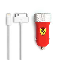 Универсальное USB зарядное устройство Ferrari FERUCC2UAPRE