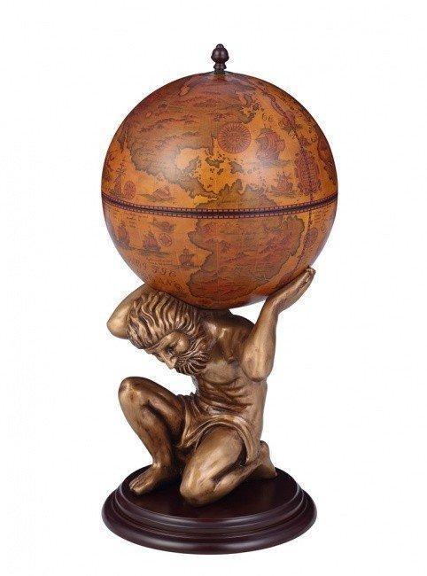 Напольный глобус-бар Атлант JUFENG, d=42 см