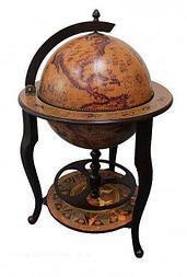 Напольный глобус-бар JUFENG, d=45 см