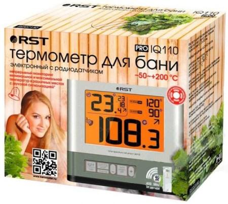 Цифровой термометр с радиодатчиком RST 77110 в упаковке