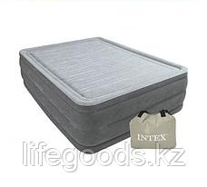 Двуспальная надувная кровать со встроенным насосом, Intex 64418, фото 3