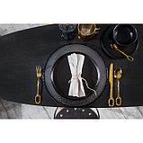 Набор столовых приборов «Уникум», 4 предмета, цвет золотой, фото 5