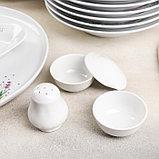 Сервиз столовый «Лаванда», 36 предметов, 4 вида тарелок, фото 2