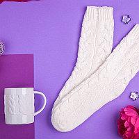 Набор подарочный KEEPWARM: кружка, носки, коробка, стружка, белый, Белый, -, 35008 01