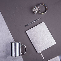 Набор подарочный QUEEN DIARIES: ежедневник, ручка, кружка, Серебристый, -, 35003 47